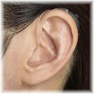 小型耳かけ型補聴器